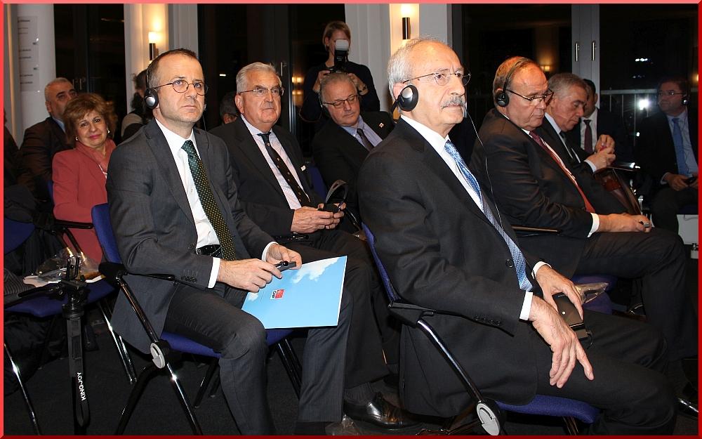 Kılıçdaroğlu Friedrich Ebert Vakfı'nda - FOTO: AYPA