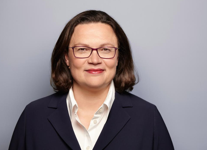 SPD Genel Başkanı Andrea Nahles - FOTO: Susie Knoll